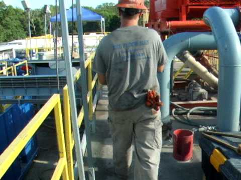 2006 Internship: Rig Work - Weighing Mud Part 1