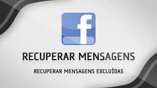 Como recuperar conversas apagadas do Facebook - RÁPIDO E SIMPLES