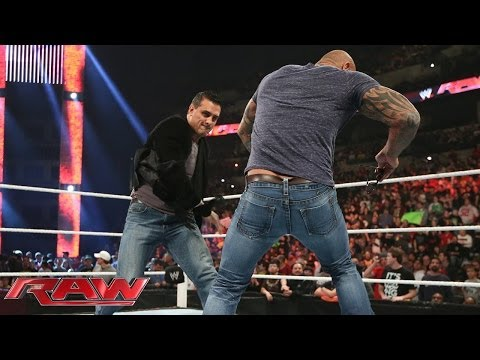 Batista clashes with Alberto Del Rio: Raw, Feb. 3, 2014