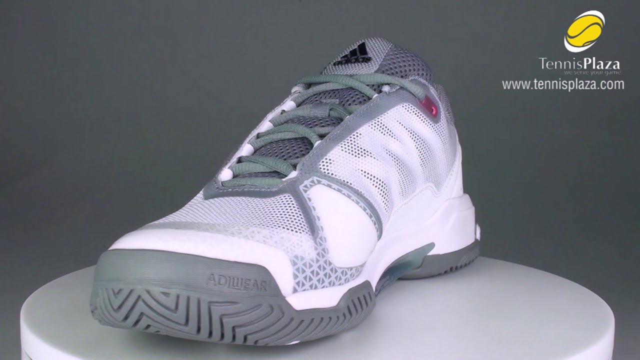 best sneakers 2ab00 ad4fe adidas Barricade Club Tennis Shoes 3D View  Tennis Plaza Review