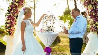 24.02.2014, Самая шикарная свадьба в саду в Таиланде Игоря и Натальи