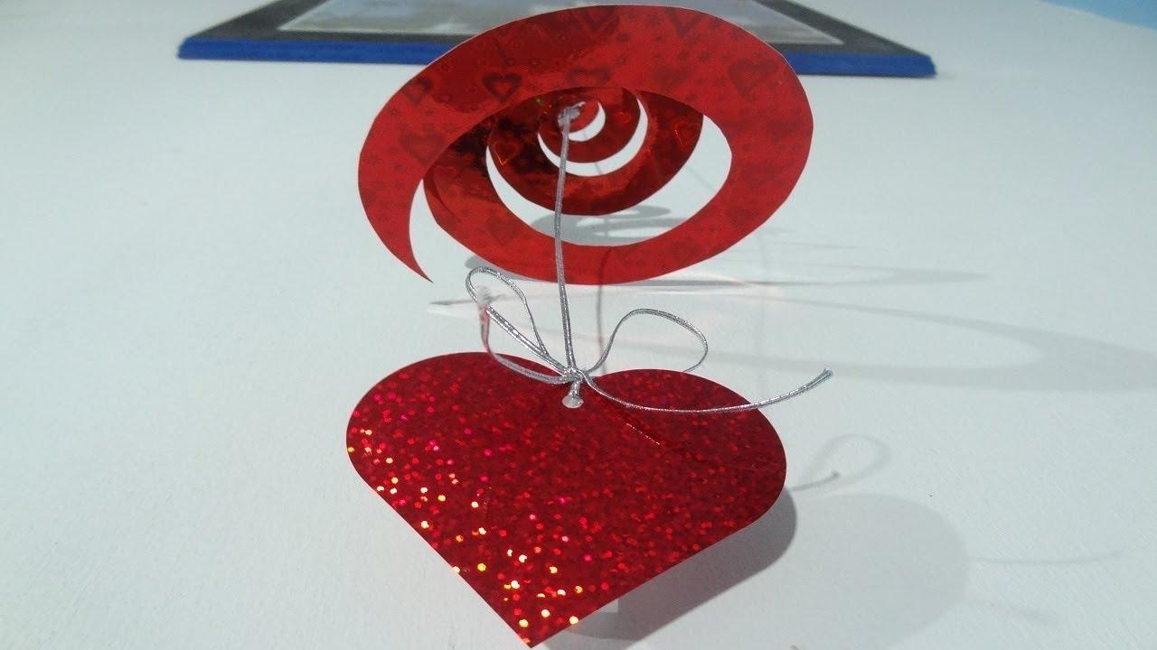 Episodio 29 adorno colgante para 14 de febrero youtube - Como hacer adornos de san valentin ...
