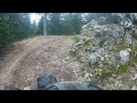 F 800 GS Dirt Ride - Mountain Parnassus Greece