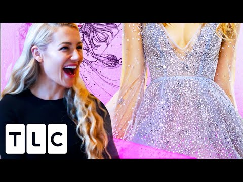 Hayley Makes The Bride A Sparkly Princess! | Hayley Ever After The Dress