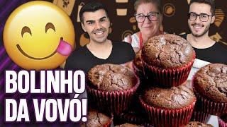 FIZEMOS O BOLINHO DE BANANA E CHOCOLATE DA PALMIRINHA ONOFRE! | Virou Festa