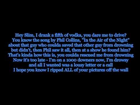 Eminem Feat. Dido - Stan Lyrics HD