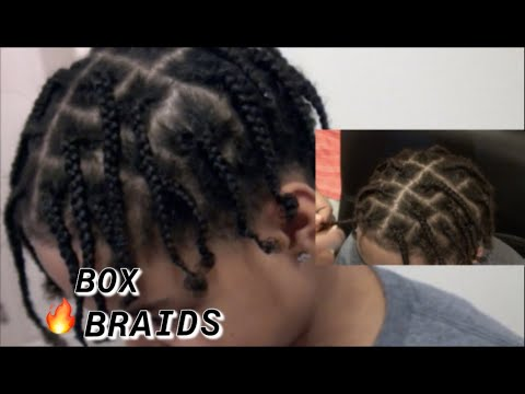Box Braids For Men Boys Beginner Friendly Medium