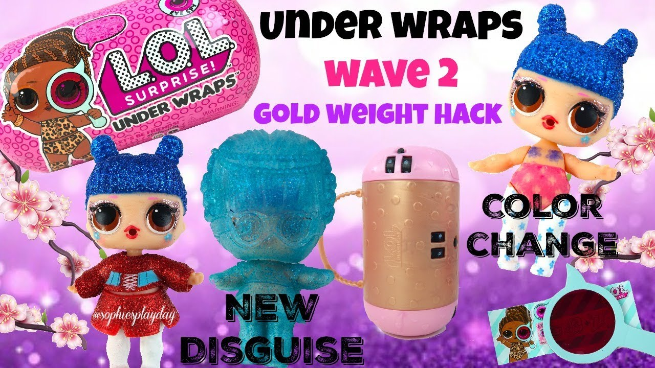 LOL Surprise Doll Eye Spy Color Change LIL KAWAII QUEEN Series 4 Lil Sisters