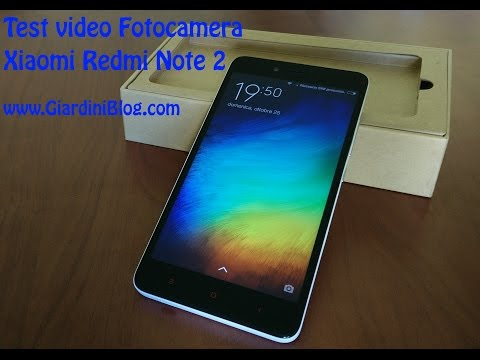 Test Video Fotocamera Xiaomi RedMi Note 2