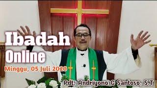 IBADAH ONLINE    MINGGU 5 JULI 2020    GKJW JEMAAT PENIWEN