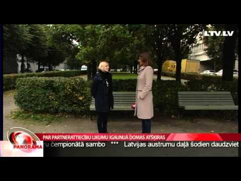 Par partnerattiecību likumu Igaunijā domas atšķiras