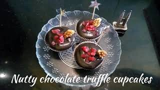 Delicious Recipes # 24 | Nutty Chocolate Truffle Cupcakes | Christmas Special