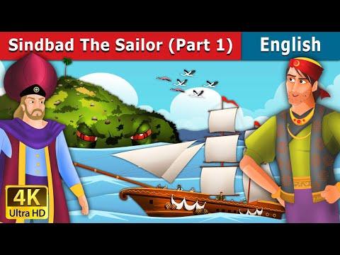 Sindbad the Sailor (Part 1) in English | English Story | Fairy Tales in English| English Fairy Tales
