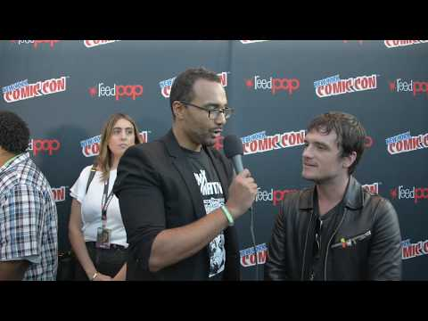 Future Man - Josh Hutchinson Interview - NY Comic Con 2017