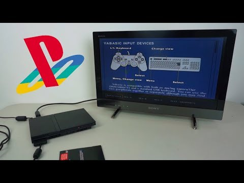 How/Why Sony Classed the PlayStation 2 as a Home Computer - Demo of Yabasic