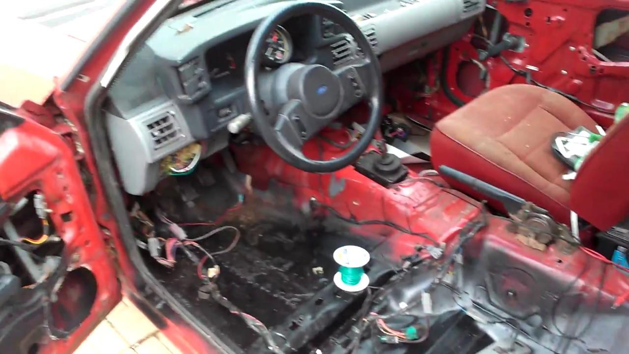 1989 Mustang 2.3 Specs