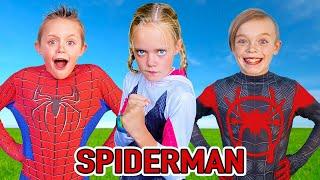 Spiderman The Movie! Kids Fun TV SpiderMan Compilation Video!