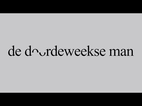 Borokov Borokov & Mathieu Terryn 'De Doordeweekse Man'