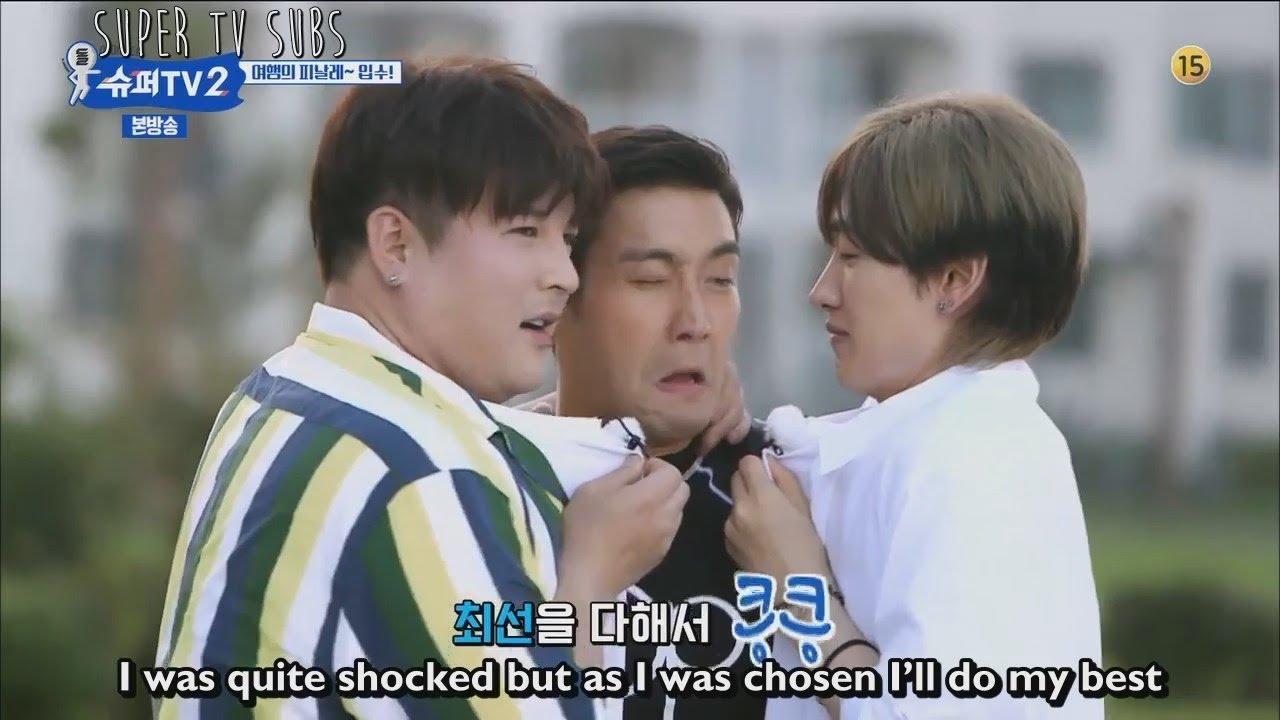 [ENG] Super TV S2 - Super Junior swimming pool highlight!