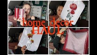 HOME DECOR HAUL: Wyprzedaże w H&M