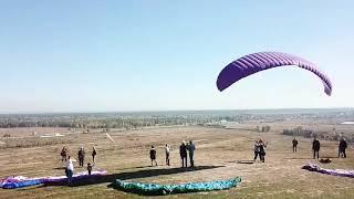 Ходосеевка, гора дельтапланистов (экстремальный спорт)