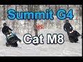 Arctic Cat M8 vs. Ski-doo Summit G4: direct comparison