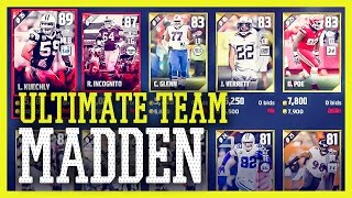 MADDEN NFL 17 ULTIMATE TEAM (Deutsch) - Team Challenges, Chemistry & Auktionshaus | Tomy Hawk TV