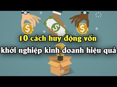 10 cách huy động vốn khởi nghiệp kinh doanh làm giàu hiệu quả   Tài chính 24h