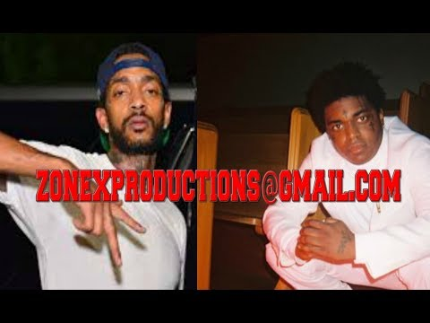 "Nipsey Hussle rollin 60 crip who k*lled Shitty Cuz sister THREATENS Kodak black""no fly zone in cali"""