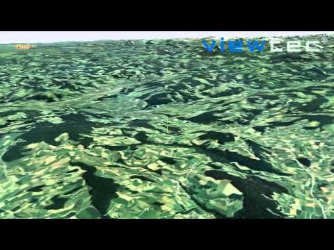 Earth3D - from orbit to ground - TerrainView-Globe