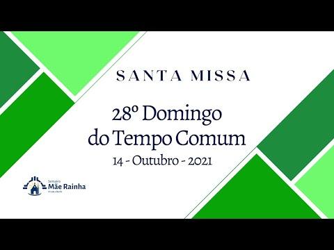 Santa Missa Santuário Mãe Rainha Olinda PE. Dia 14.10.2021