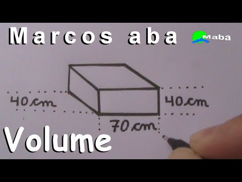 VOLUME DO PARALELEPÍPEDO   -   Geometria espacial - Aula 02