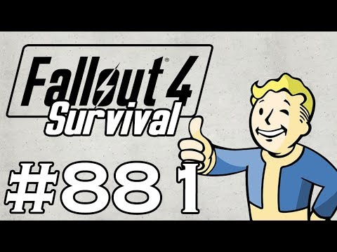 Let's Play Fallout 4 - [SURVIVAL - NO FAST TRAVEL] - Part 881 - Far Harbor P63