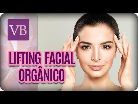Lifting Facial Orgânico Natural - Você Bonita (21/02/18)