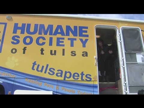 Humane Society of Tulsa set up for Sand Springs pets