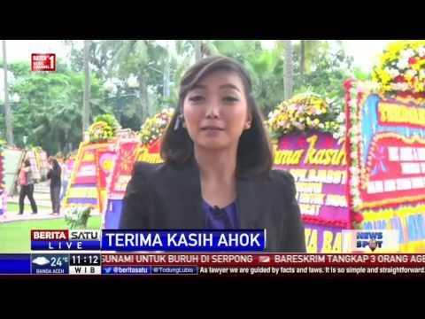 2.700 Karangan Bunga Hiasi Balai Kota Jakarta