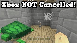 Minecraft Xbox NOT CANCELLED Yet? Update Aquatic