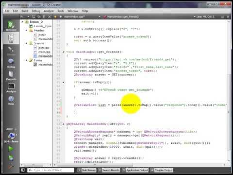API Вконтакте C++(Qt) - 2 - Отправка сообщений
