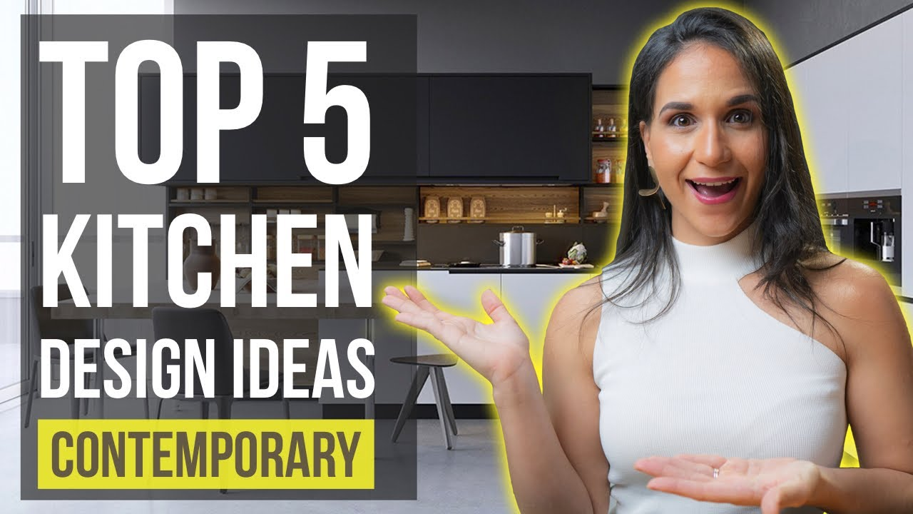 Top 5 Contemporary Kitchen Interior Design Ideas | Tips and Trends Zahira Fashion Designs Collection Home on