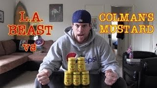 L.A. BEAST vs COLMAN'S ENGLISH MUSTARD (Warning: May Cause Exorcism Vomit)