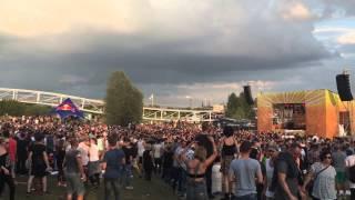 Richie Hawtin @ Pollerwiesen MINUS - 19.07.2015 - Leverkusen - Video 1
