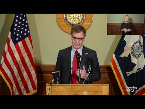 Governor Mark Gordon's Press Conference on COVID-19 - October 21, 2020