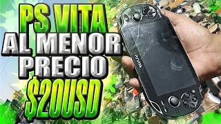 ¡Compré una PS VITA en $20 USD! ¡Al menor precio posible! FT SR1