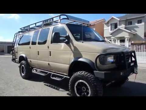Ford 15 Passenger Van >> 1997 FORD E350 DIESEL VAN 4X4 15 PASSENGER - YouTube