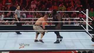 "The Rock ""ROCK BOTTOM "" on Mark Henry_RAW 19.03.2012.русс,озв от 545TV"