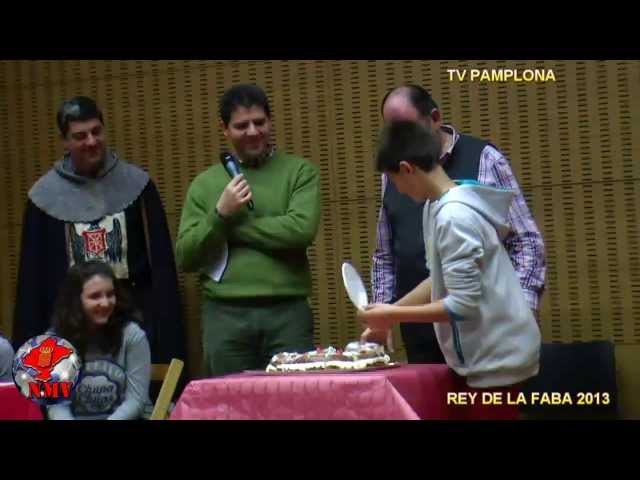 REY DE LA FABA 30 nov 2013  TV PAMPLONA parte 2º Videos De Viajes