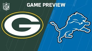 Packers vs. Lions | Rodgers vs. Stafford | Move the Sticks | Week 17 Previews