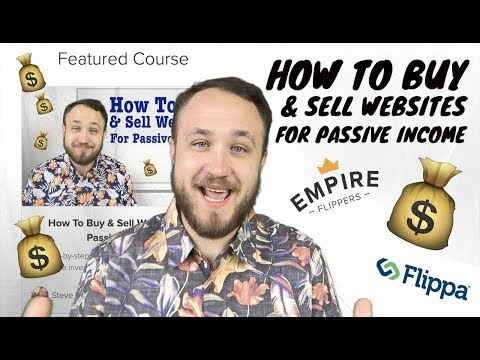 How To Buy & Sell Websites For Passive Income💰