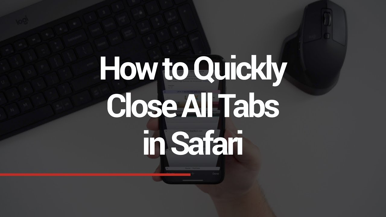 How to Close All of Your Safari Tabs at Once on iPhone or iPad