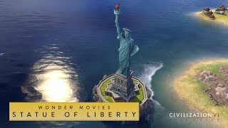 Video Civilization VI: Rise and Fall - Statue of Liberty (Wonder Movies) download MP3, 3GP, MP4, WEBM, AVI, FLV Januari 2018